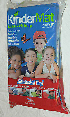 """New Lot of 10 KINDERMAT Sleeping & Exercise Mat 1""""x19""""x45"""" / Special Case Price!"""