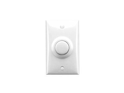 Clipsal 319 Pneumatic Time Delay Switch Push Button Timer Electrical White