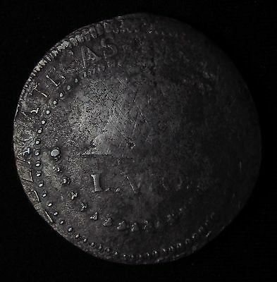8 reales LVO Zacatecas 1811 VERY RARE SILVER COIN...NO RESERVE!!!