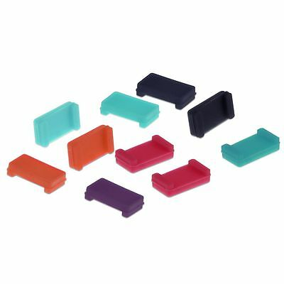 10x TPU Anti Dust Plugs for Fitbit Charge / Charge HR Tracker Port Protector Hot
