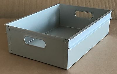 Aluminium Drawer For Used Airline Aircraft Half-Size Catering Cart Trolley