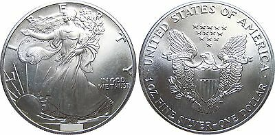 USA  KM  273   1 Silvereagle  1987 in STG      AKTION