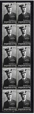 Kingsford Smith Aviation Pioneer Strip Of Mint Stamps 1
