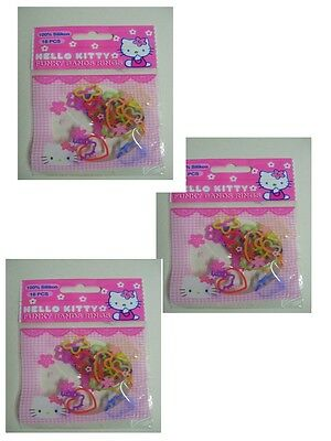 Hello Kitty Funky Bands Rings Silikon Armbänder 3  Packungen