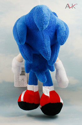 "New 11"" SEGA SONIC SOFT TOY PLUSH SONIC THE HEDGEHOG SOFT TOY"