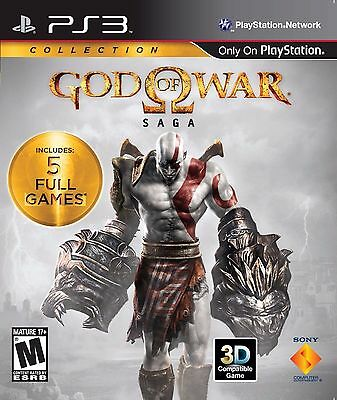 God of War Saga Collection PS3 Game Brand New *DISPATCHED FROM BRISBANE*
