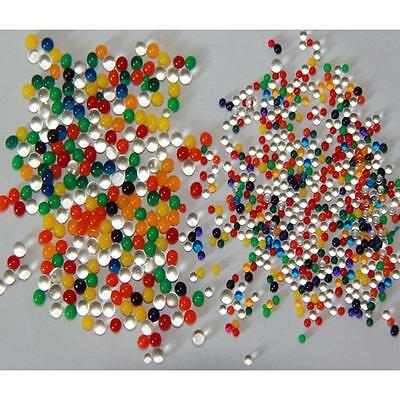 1000pcs Water Balls Crystal Pearls Jelly Gel Bead for Orbeez Toy Refill Color OX