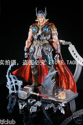 Marvel Universe Variant Play Arts Kai Action Figure Thor