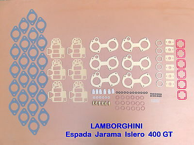 LAMBORGHINI Espada - Jarama - Islero - 400  WEBER 40 DCOE  JOINTS - REPAIR KIT -