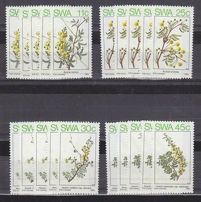 Stock Clearance! South West Africa 1984 - Spring (Acacias) Set X 5 - Mnh