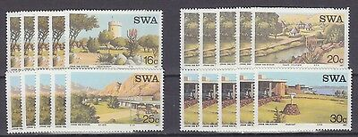 Stock Clearance! South West Africa 1987- Tourist Camps Set X 5 - Mnh