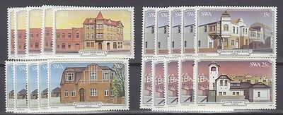 Stock Clearance! South West Africa 1981 - Luderitz Buildings Set X 5 - Mnh