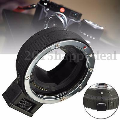 NEX A7 A7R NEX-6 Commlite Auto Focus Adapter For Canon EOS EF Mount Lens To Sony