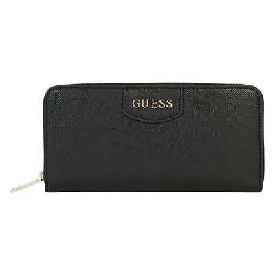 PORTAFOGLIO DONNA Guess aria large zip around BLACK SWARIAP7146BLA