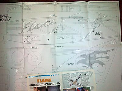 Flame Semi Scale Reno Racer Styled Model Plan