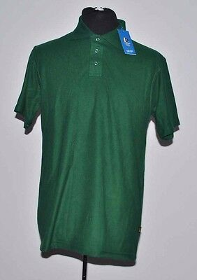 Wholesale Bulk Polo Tops T-Shirts 10 x S - 3XL Dark Green Workwear Cotton/Poly