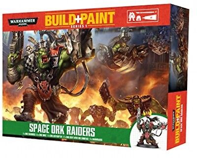 Revell GmbH Warhammer 40,000 Space Ork Raiders Build And Paint Set