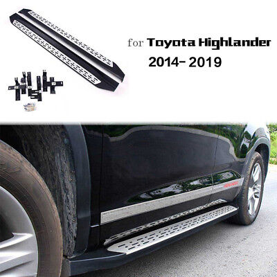 Fit for Toyota Highlander Kluger 2014-2019 Side Step Running Board Nerf Bar