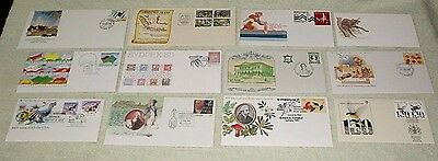 bulk Australian Covers, lot one - Unusual cancels, Envelopes or cards