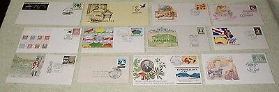 bulk Australian Covers, lot three - Unusual cancels, Envelopes or cards