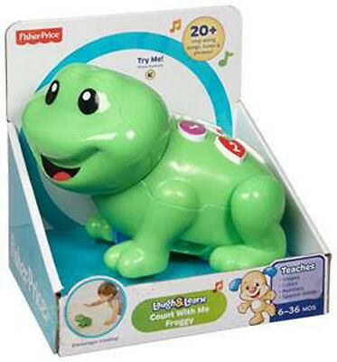 Fisher Price Laugh & Learn Smart Stages Count With Me Froggy Brand New Cgw75