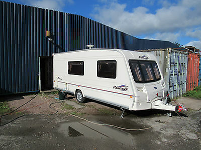 Bailey Pageant Champagne 4 Berth End Bathroom Touring Caravan