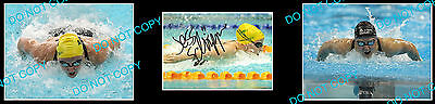 Jessicah Schipper Aust Olympic Swimming Champion Signed Photo +2 Photos