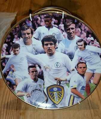 Leeds United Commemorative Plate featuring Great Defender's