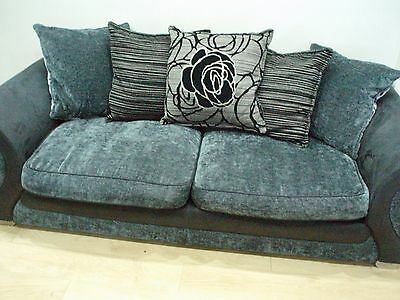 3 & 2 Dfs Seater Sofas Leather & Fabric