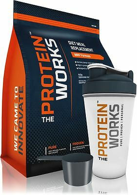 Diet Meal Replacement Weight Loss Shake from THE PROTEIN WORKS™ 10 Flav 500g-2kg