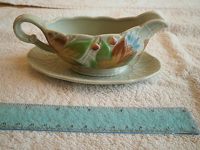Clarice Cliff Sauce Boat & Saucer