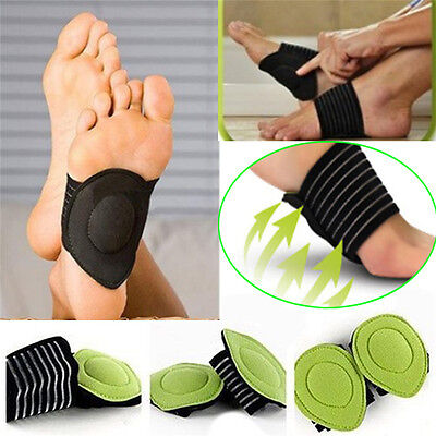Plantar Fasciitis ARCH Support Sleeve Cushion Foot Pain Heel Insole Orthotic OX