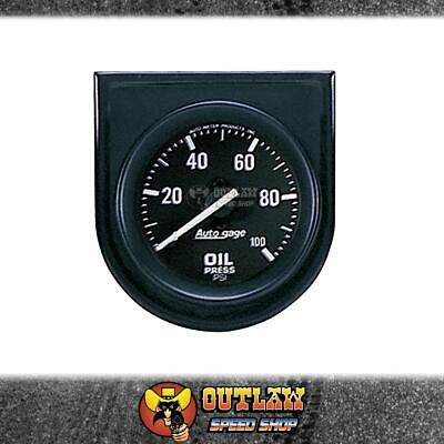 "Autometer Oil Pressure Gauge Mechanical Console Mount 2.1/16"" 0-100 Psi - Au2332"