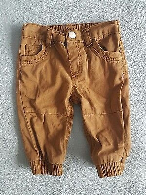 baby boys chino trousers - 3-6 months