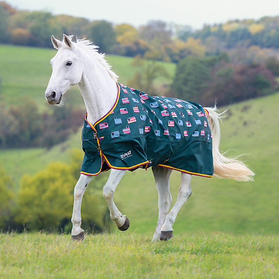 Shires Tempest Original Lite Pony/Horse Turnout Rug - Sheep Print