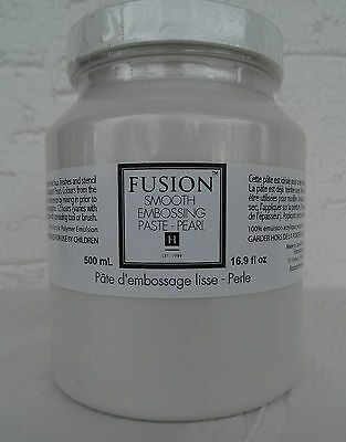 FUSION Smooth Embossing Paste Pearl 500ml