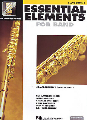 Essential Elements for Band Book 1 - Flute -  EE Interactive - 862566  ***NEW