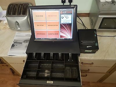 Tyco Elo Touch Screen Epos System Bundle With Icrtouch Touchpoint 2016