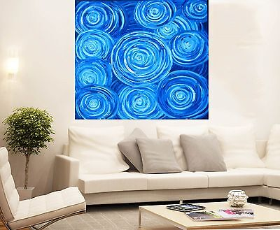 Aboriginal  Art Painting large canvas jane crawford dreampools  900mm x900mm