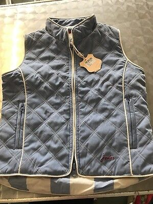 Brand New Joules Junior Gilet Age 5
