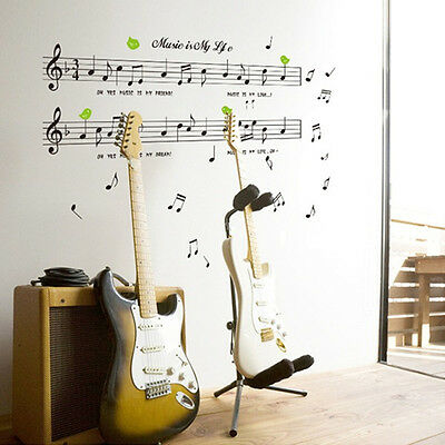 Music Sticker Music Is My Life Theme Music Bedroom Decor & Dancing Music