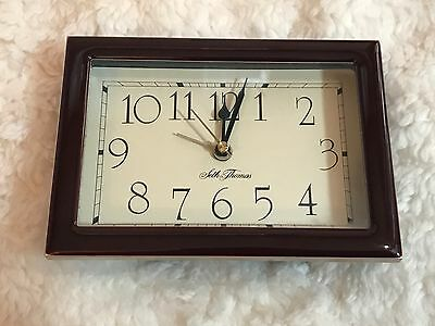 Rare Seth Thomas Clock Watch Wood Works 100%