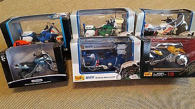 1:18 BMW Model Motorbikes (Never Displayed or Played with!)