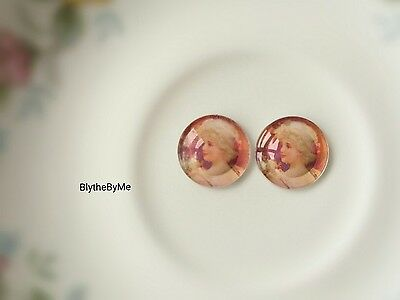 "Blythe doll eye chips ""Vintage Shabby chic"""