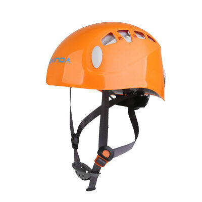 Safety Rock Climbing Mountaineering Helmet Rappelling Protection Hard Hat