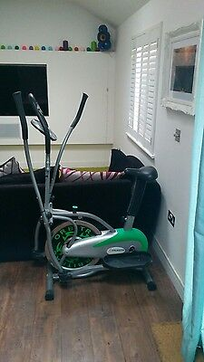 Gym Master 2 in 1 Exercise Bike and Cross Trainer - GymMaster