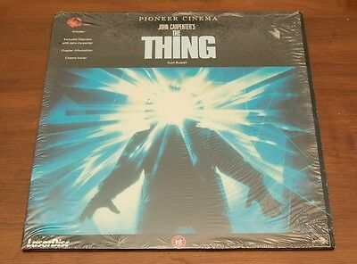 The Thing - Laserdisc - Nice Condition - Pal
