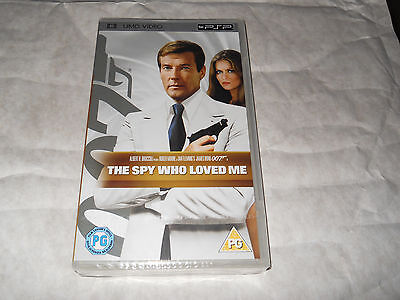 James Bond The Spy Who Loved Me Umd Video For Sony Psp New And Sealed