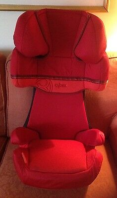 CYBEX SOLUTION X Car Seat Gr. 2/3, 15 - 36 kg, from approx. 3 up to 12 years