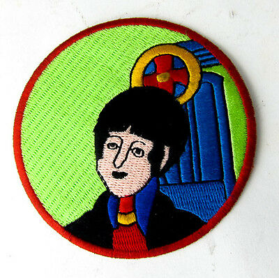 The Beatles Paul Mccartney Iron On Patch Patches Badge Badges Awesome & Rare